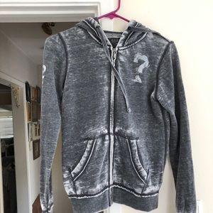 Guess Zip Up Grey Jacket